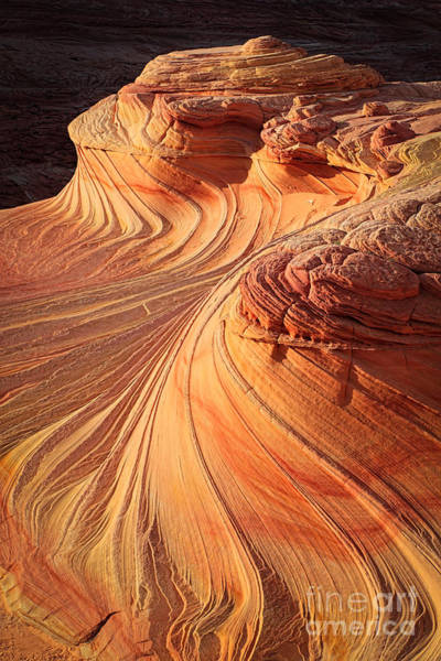 Vermilion Cliffs Wall Art - Photograph - Second Wave Flow by Inge Johnsson