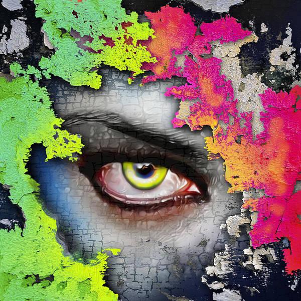 Seer Wall Art - Painting - Secret Admirer  by Anthony Mwangi