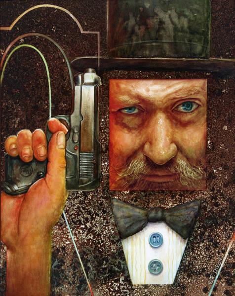 Wall Art - Painting - Secret Agent  by Frank Robert Dixon