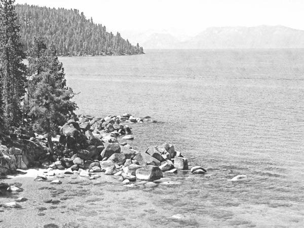 Photograph - Secret Cove Lake Tahoe by Frank Wilson