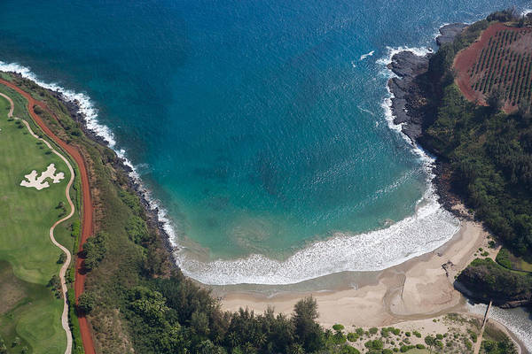 Photograph - Secret Cove Of Kauai West Shore by Steven Lapkin