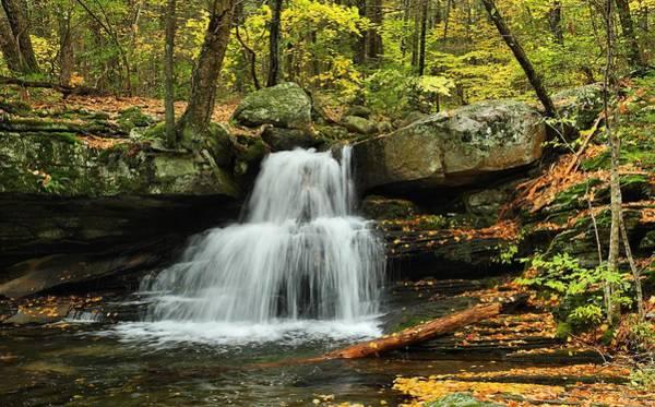 Photograph - Secret Falls by Mike Farslow