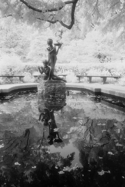Secret Garden Ir Art Print