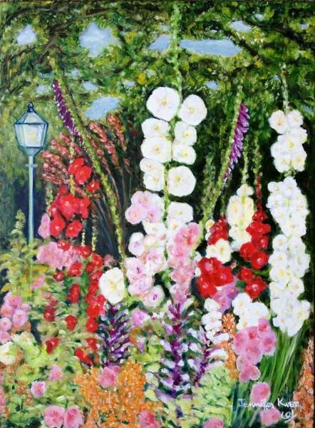 Wall Art - Painting - Secret Garden by Jennifer Kwon