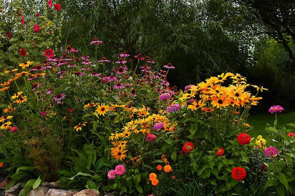 Photograph - Secret Garden by TL  Mair