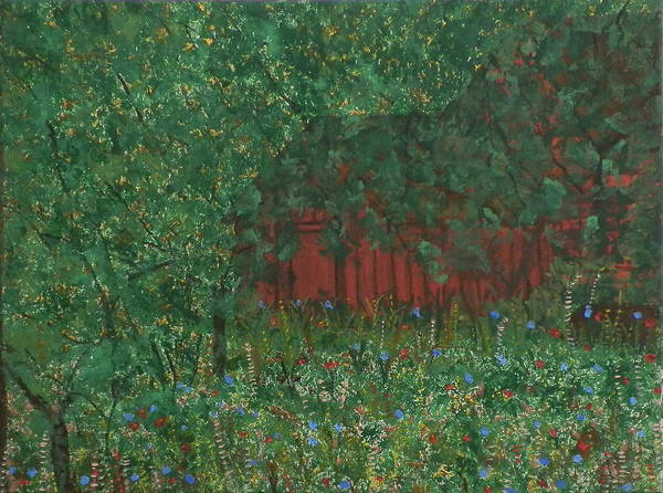 Ione Painting - Secret Hideaway by Ione Hedges