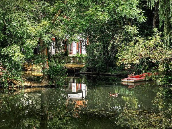 Photograph - Secret Retreat - River Reflections by Gill Billington