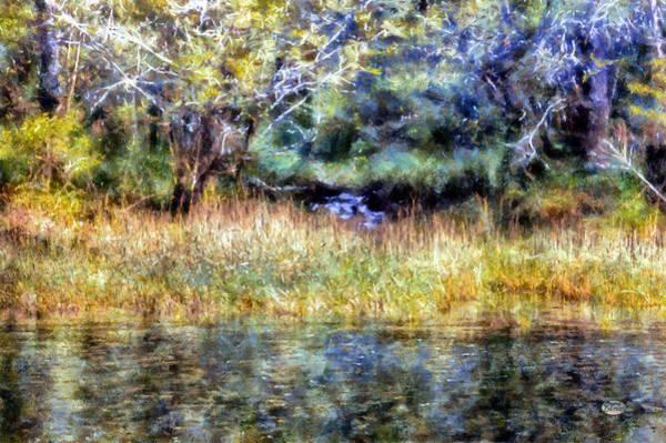Digital Art - Secret Waterfall by Daniel Eskridge
