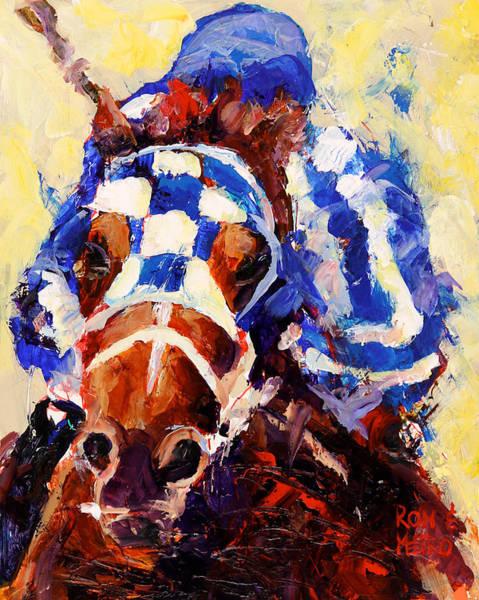 Equestrian Wall Art - Painting - Secretariat by Ron Krajewski