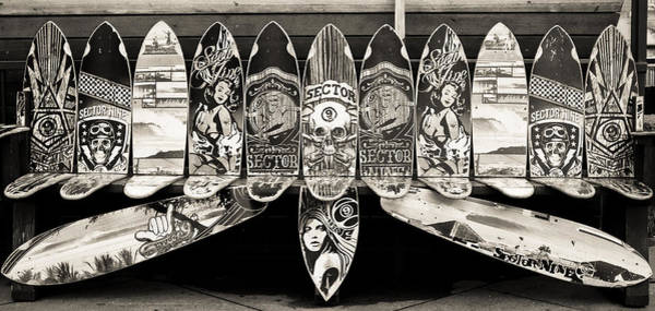 Photograph - Sector9 Seat On The Board by Michael Hope