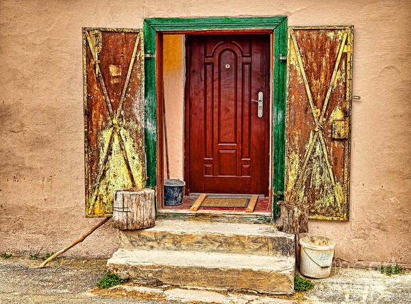 Photograph - Secure Entrance by Les Palenik