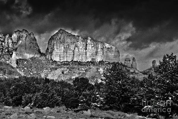 Photograph - Sedona Arizona - Winter by Bob and Nadine Johnston