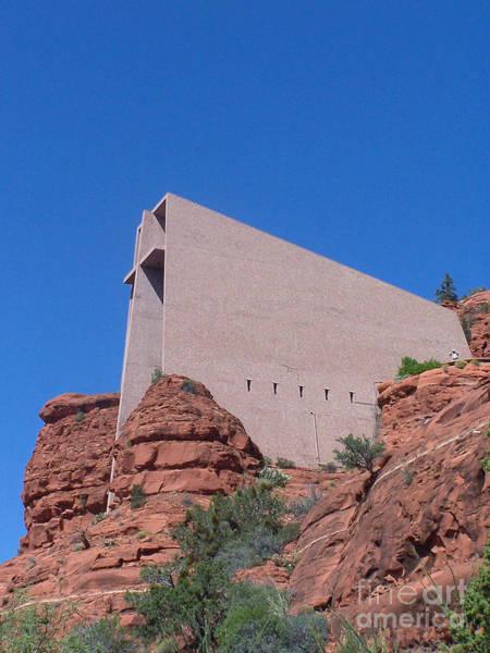 Photograph - Sedona Chapel 1 by Tom Doud