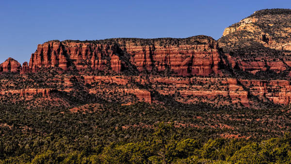 Photograph - Sedona Fortress by Mark Myhaver