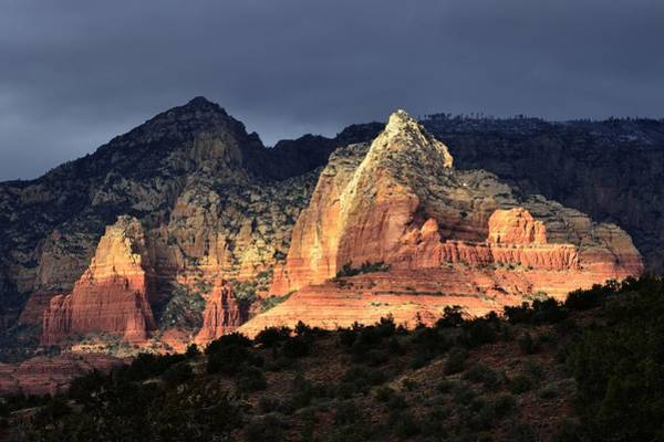 Photograph - Sedona Light by Walt Sterneman