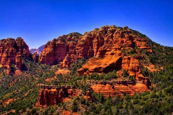 Photograph - Sedona Rock Formations IIi by David Patterson