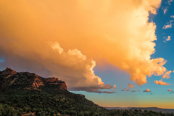 Photograph - Sedona Sunset by Robert FERD Frank