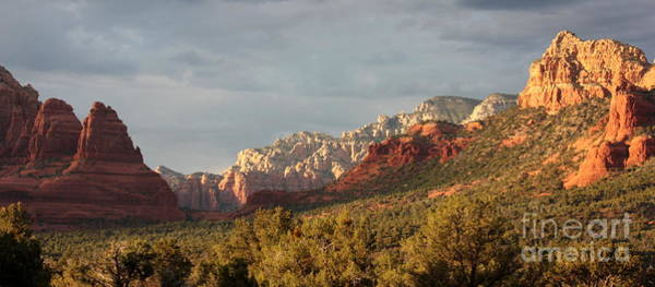 Sonoran Desert Photograph - Sedona Sunshine Panorama by Carol Groenen