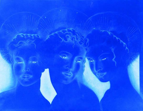 Painting - See Love Hear Love Speak Love by Giorgio Tuscani