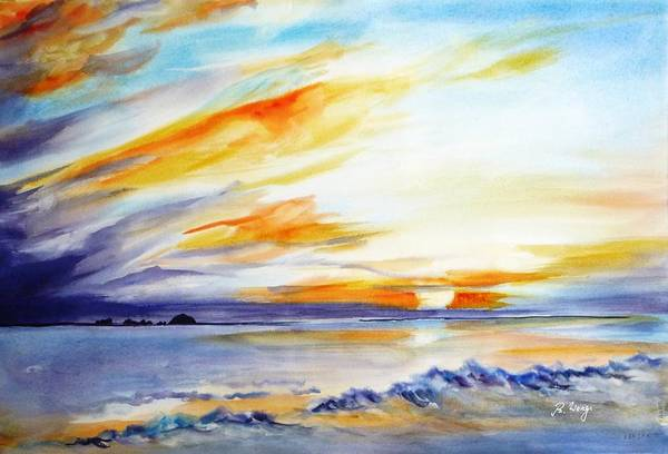 Painting - See You Tomorrow 1 by Betty M M   Wong