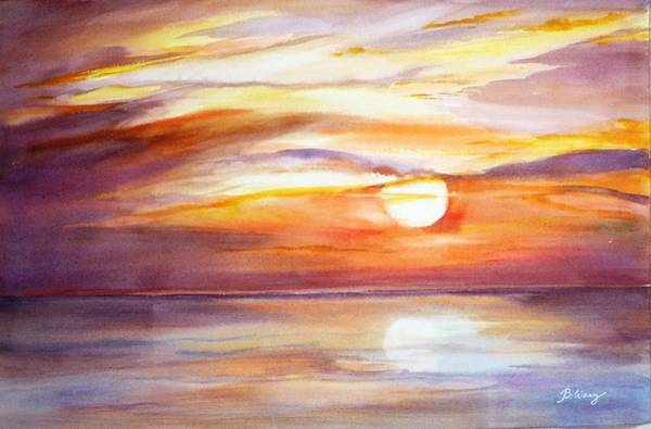 Painting - See You Tomorrow 2 by Betty M M   Wong