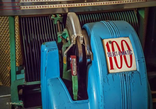 Wall Art - Photograph - Seeburg Select-o-matic Jukebox by Brian Wallace
