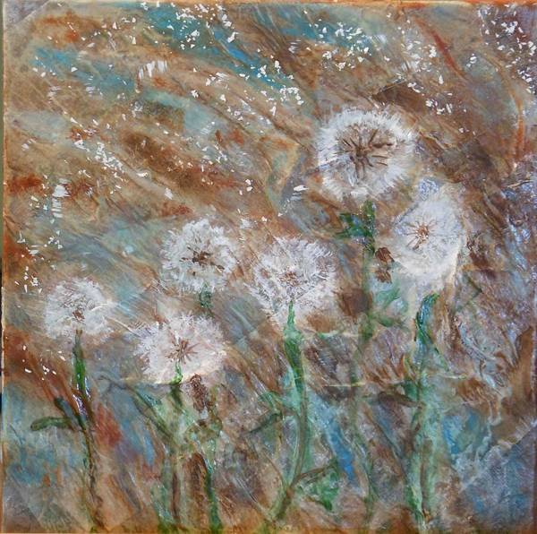 Painting - Seeds Of Spring by Pam Halliburton
