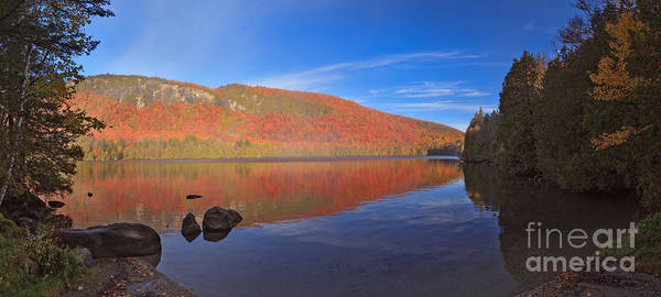 Photograph - Seeing Red At Jobs Pond by Charles Kozierok