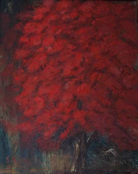 Stephen King Painting - Seeing Red by Stephen King