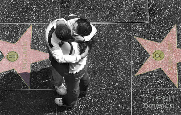 Hollywood Star Photograph - Seeing Stars by Dan Holm