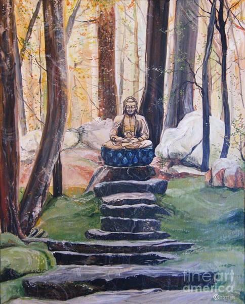 Painting - Seek Peace by Lizi Beard-Ward