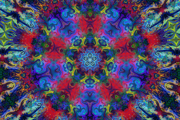 Digital Art - Seeking The Source by Peggy Collins