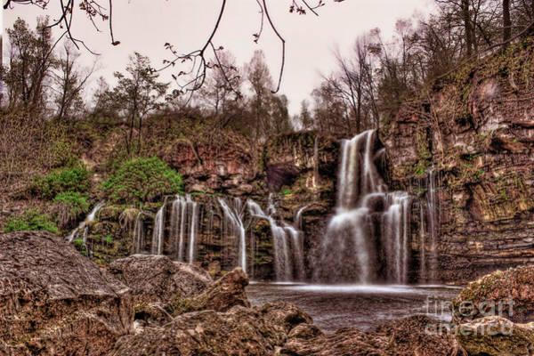 Photograph - Seeping Waterfalls  by Jim Lepard