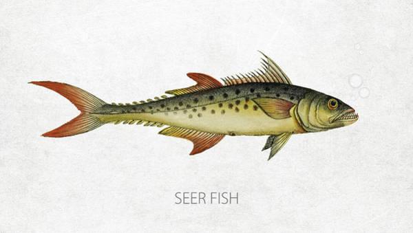 Pacific Digital Art - Seer Fish by Aged Pixel