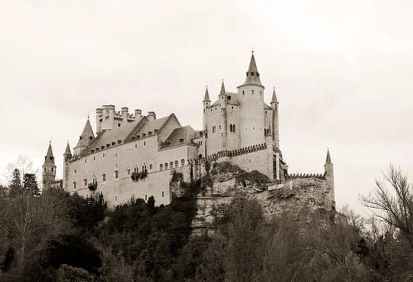 Photograph - Segovia Castle  by Lorraine Devon Wilke