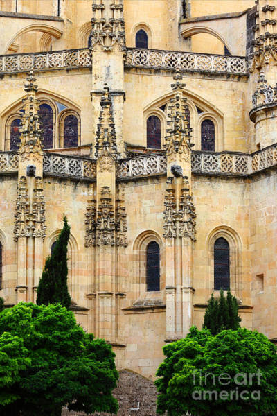 Photograph - Segovia Cathedral by James Brunker