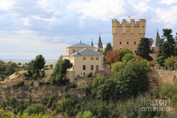 Photograph - Segovia Cliff Castle by Carol Groenen