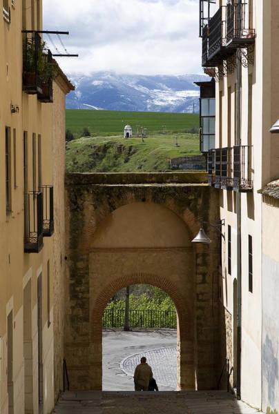 Photograph - Segovia Framed by Lorraine Devon Wilke