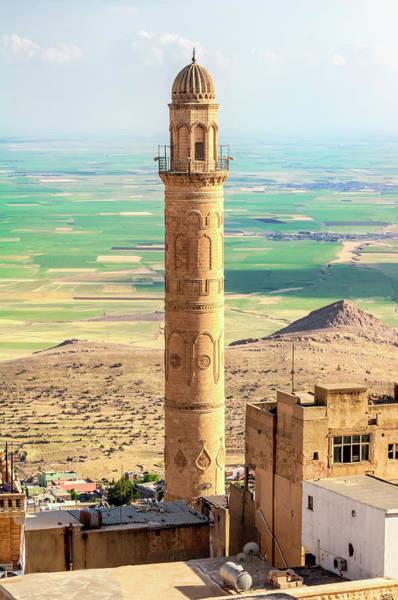 Eastern Anatolia Photograph - Sehidiye Mosque Minaret, Mardin by Gabrielle Therin-weise