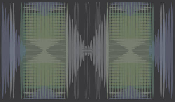 Digital Art - Seismic Rug 2 by Kevin McLaughlin