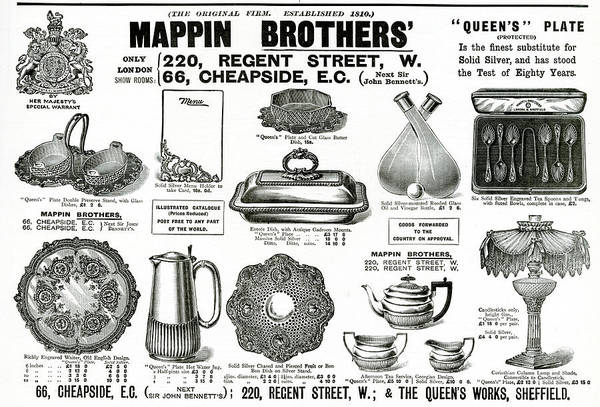 The Specials Drawing - Selection Of Decorative Items Available by  Illustrated London News Ltd/Mar