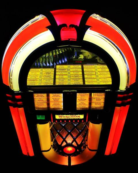 Wurlitzer Photograph - Selections by Benjamin Yeager