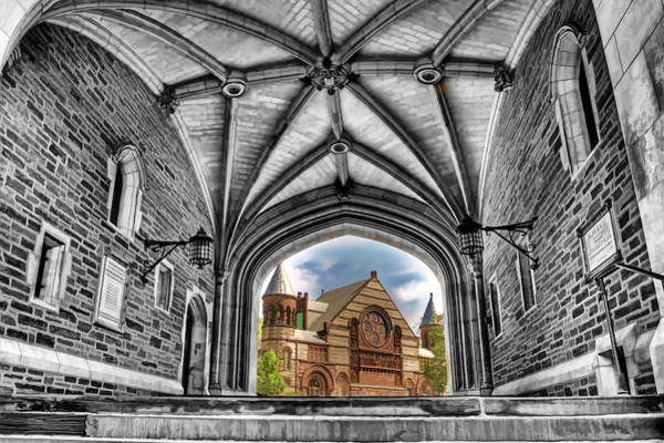 Wall Art - Painting - selective colors Princeton University by Geraldine Scull
