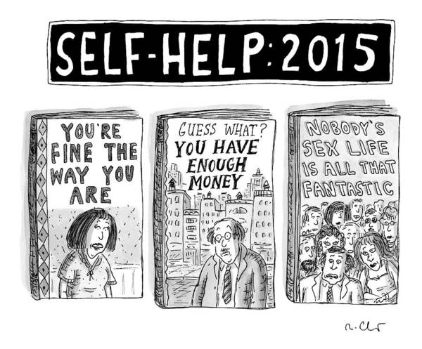 Self Image Drawing - Self Help: 2015 -- Three Books With Titles That by Roz Chast
