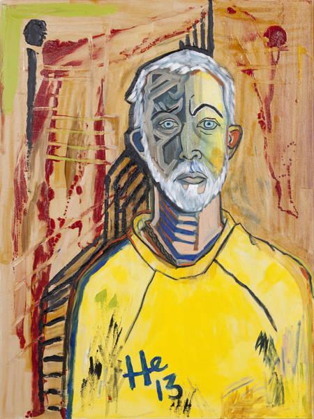 Painting - Self Portrait   by Hans Magden