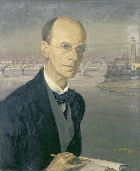 Bow River Wall Art - Photograph - Self Portrait, 1924 by Arthur Rackham
