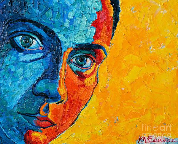 Selfportrait Painting - Self Portrait by Ana Maria Edulescu