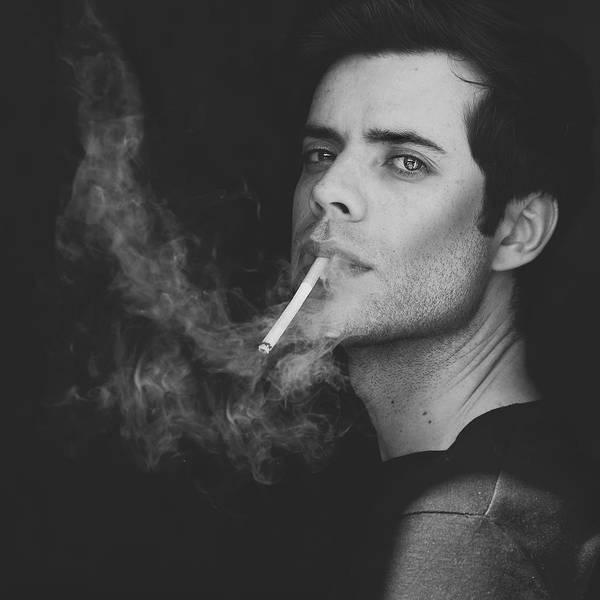Smoke Wall Art - Photograph - Self-portrait by Andr? Gon?alves