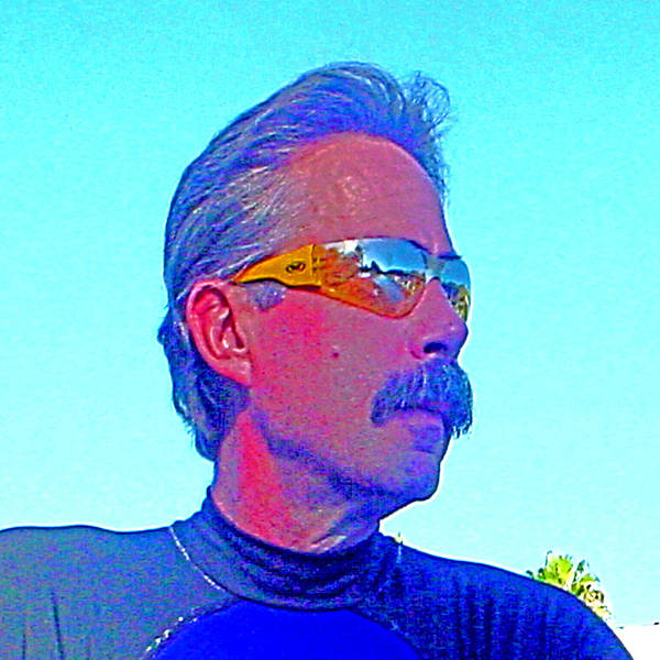 Digital Art - Self Portrait - Capt'n Joe 2005 by Joseph Coulombe