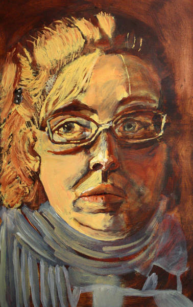 Painting - Self Portrait by Dawn Boswell Burke